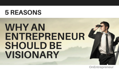 WHY AN ENTREPRENEUR SHOULD BE VISIONARY