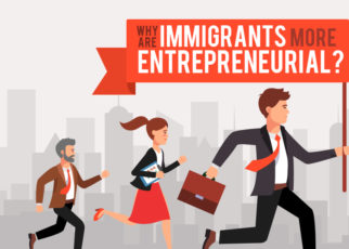 Why are immigrants more entreprenuerial