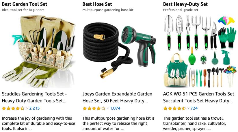trending gardening supplies