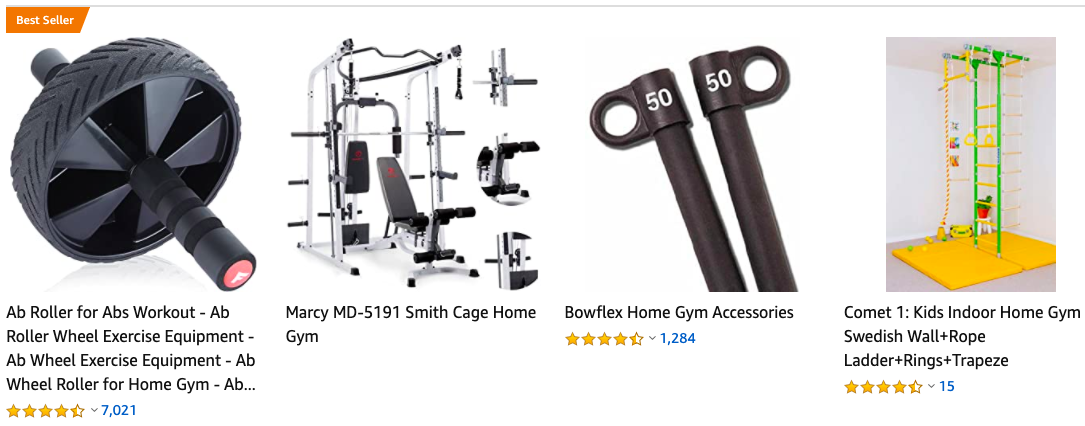 trending gym products